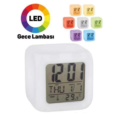 Piranha 4405 Termometreli Dijital Alarmlı Saat