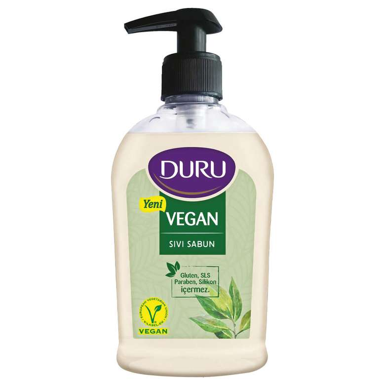 Vegan Duru Sıvı Sabun 300 Ml