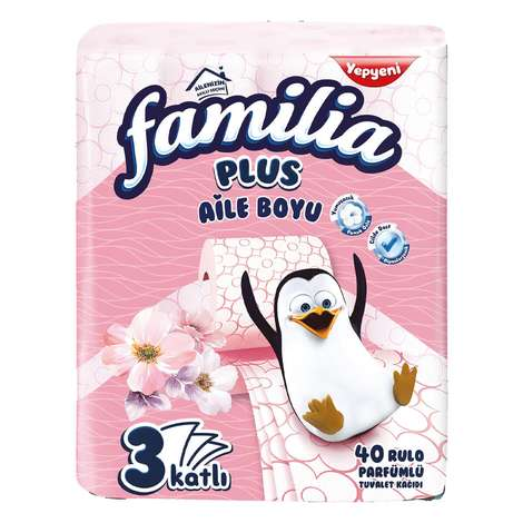 Familia Tuvalet Kağıdı 3 katlı Parfümlü 40'lı
