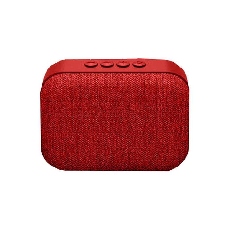 Piranha 7807  Bluetooth Hoparlör - Kırmızı