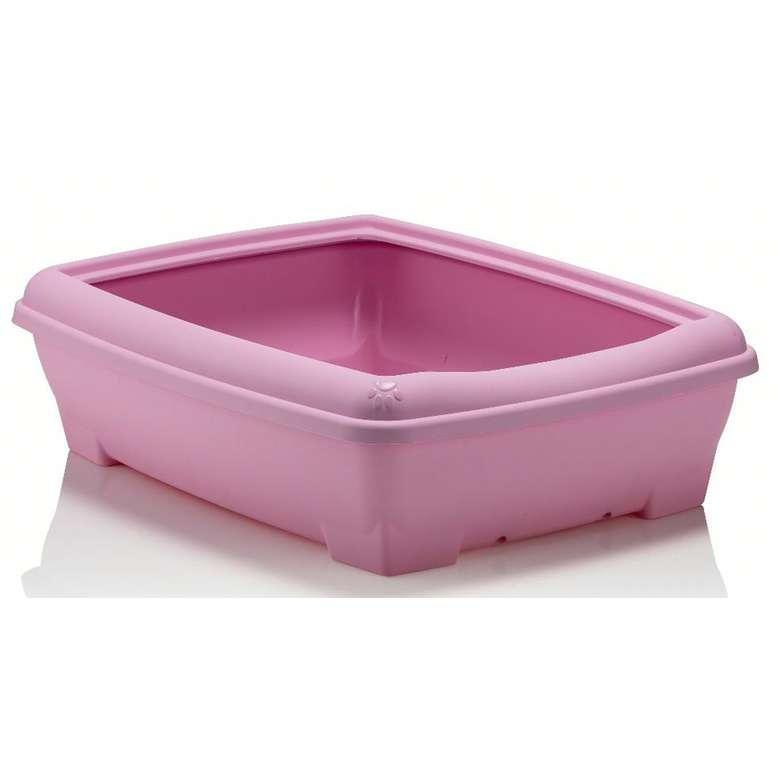 Relax Kedi Tuvalet Kabı - Pembe