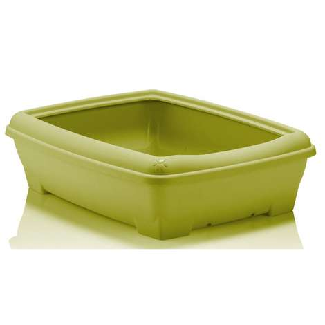 Relax Kedi Tuvalet Kabı - Yeşil