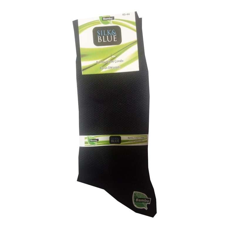 Silk&Blue Bambu Lacivert Erkek Çorap