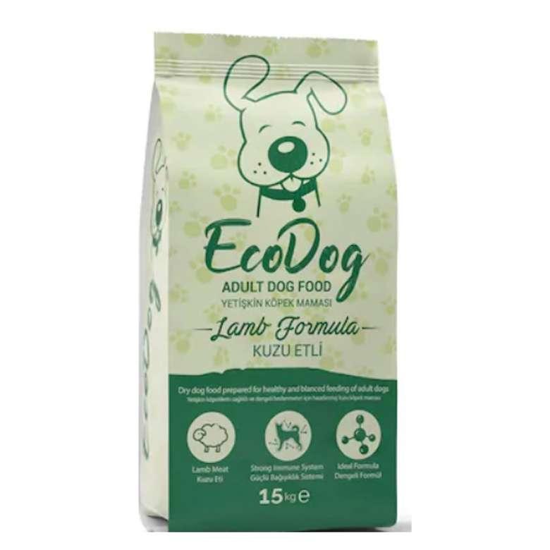 Ecodog Kuzulu Yetişkin Köpek Mama 15 Kg