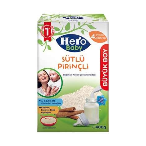 Hero Baby Ek Besin Bebek Maması Pirinçli 400 gr