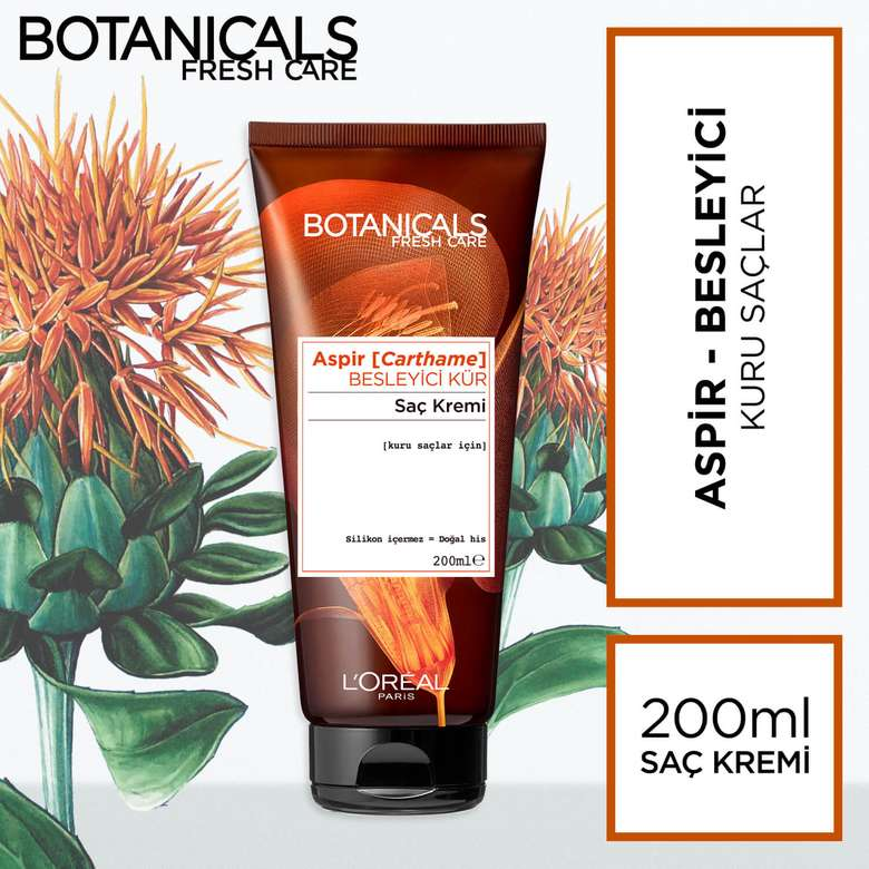 L'oreal Botanicals Aspir Besleyici Kür Saç Bakım Kremi 200 ml