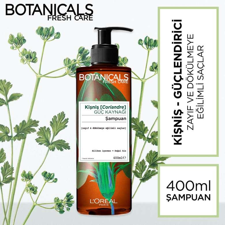 L'oreal Botanicals Güç Kaynağı Kişniş Şampuan 400 ml