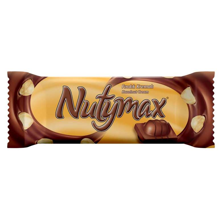 Nutymax Bar Çikolata Fındık Kremalı 44 G