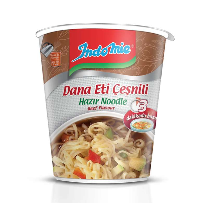 Noodle Paket Dana Eti Çeşn.5x70 İndo Mie