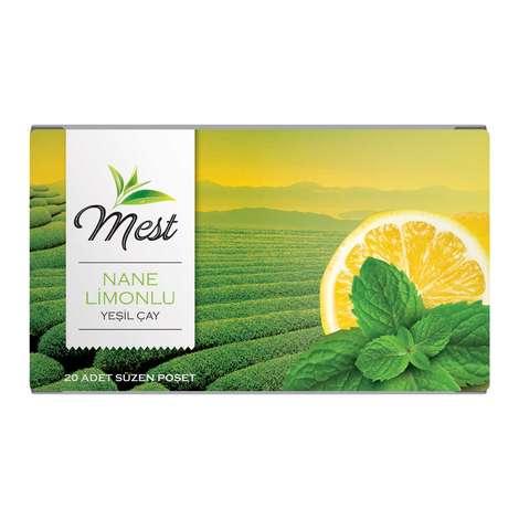 Mest Yeşil Çay Nane Limonlu 20'li