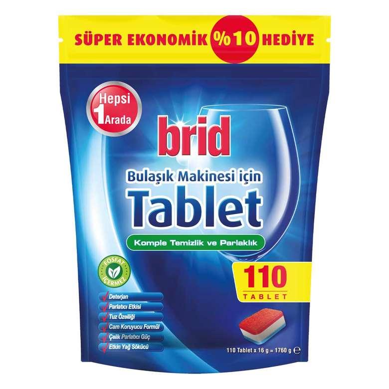 Brid Bulaşık Makinesi Tableti 110'lu