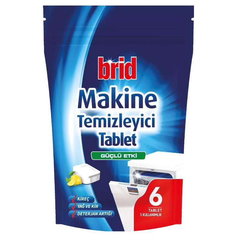 Brid Bulaşık Makinası Tablet Temizleyici 6'lı
