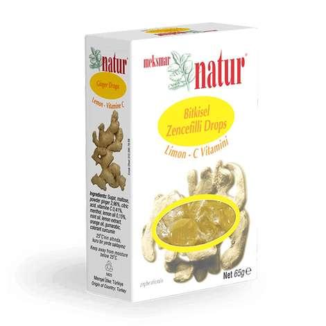 Natur Limon Sert Şeker Bitk.5 G