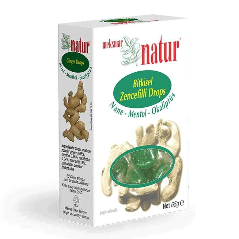 Natur Menthol Sert Şeker Bitk.5 G Menthol