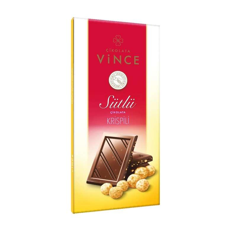 Vince Sütlü Çikolata Krispili  50 G