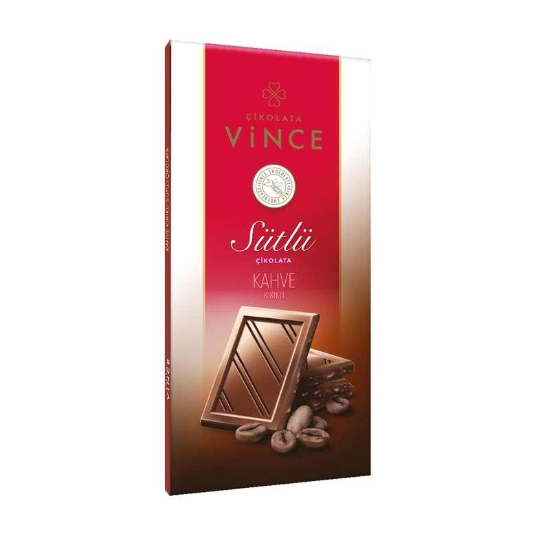Vince Çikolata Sütlü Kahve Parçacıklı 50 G