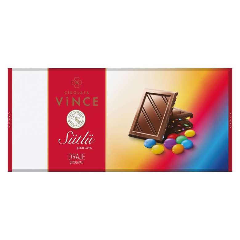 Vince Sütlü Çikolata Bonibonlu 200 G