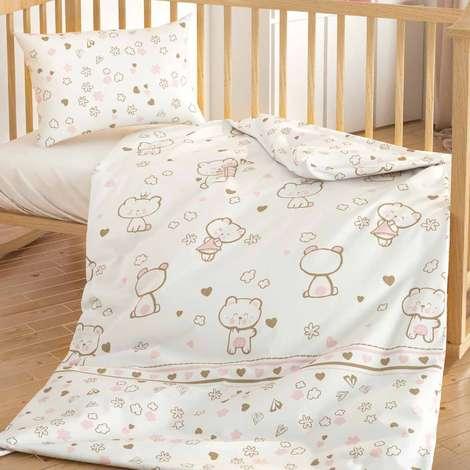 Bebek Nevresim Set Kitten % 100 Pamuk