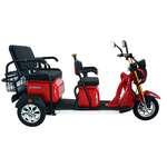 Elektrikli 3 Tekerlekli Bisiklet - Kırmızı