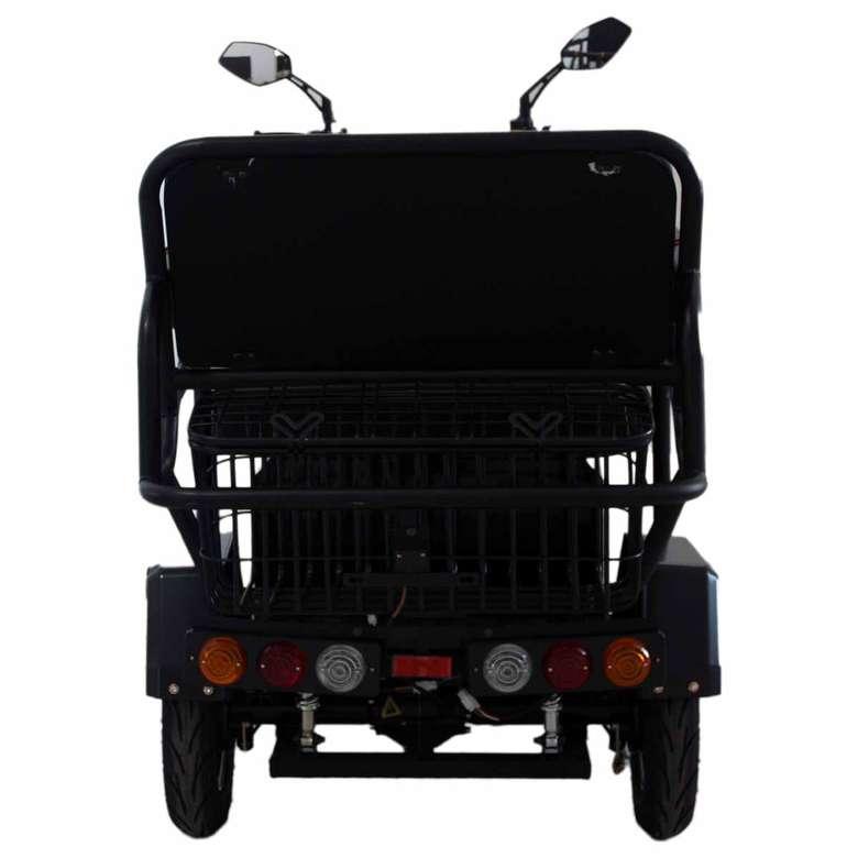 Elektrikli 3 Tekerlekli Bisiklet - Siyah