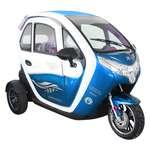 Elektrikli Araba Grande-5- Mavi Beyaz