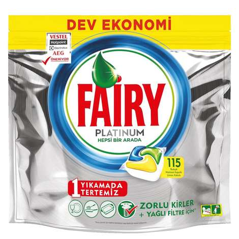 Fairy Platinum  Bulaşık Makinesi Tableti 115'li