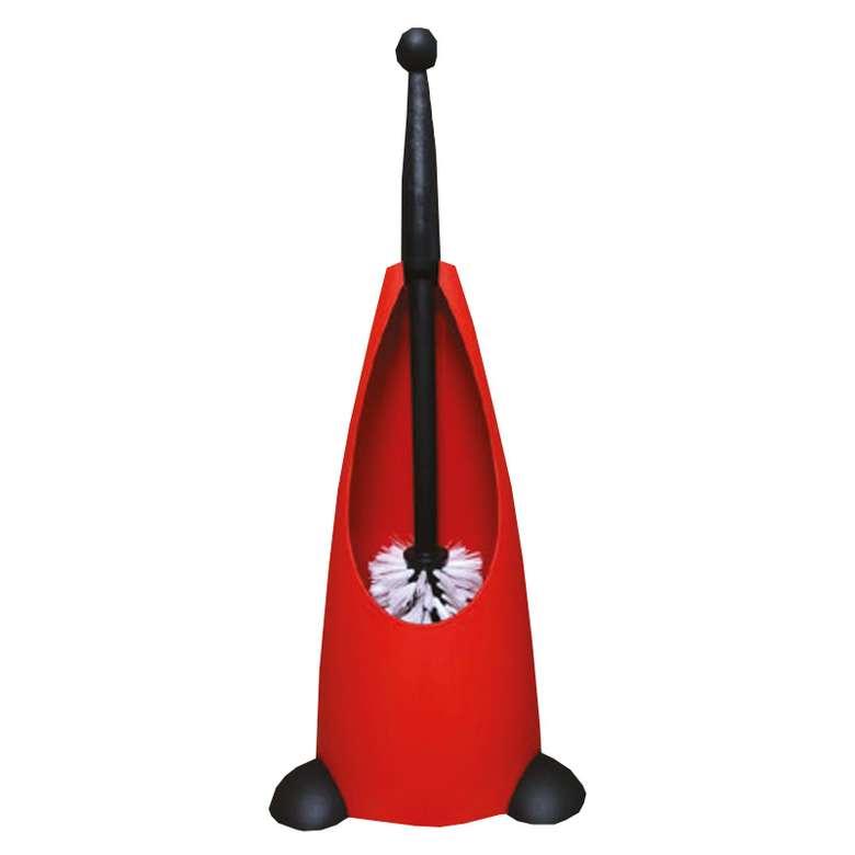 Penguen Klozet Fırçası - Kırmızı