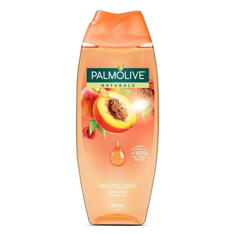 Palmolive Naturals Revitalizing Şeftali ve Gül Duş Jeli 500 ml