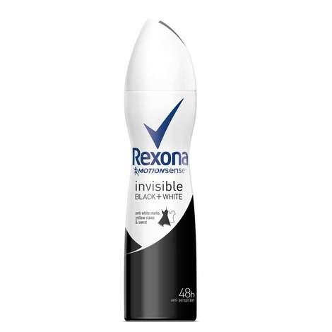 Rexona Invisible Black&White Sprey Deodorant 150 Ml