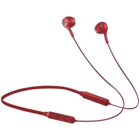 Roxxo Mıknatıslı Bluetooth Kulaklık - Kırmızı