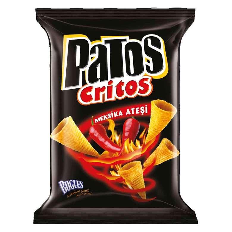 Critos Acılı Mısır Cips  38 G