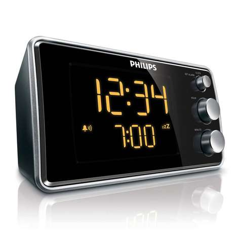 Philips AJ3551 Alarm Saatli Radyo