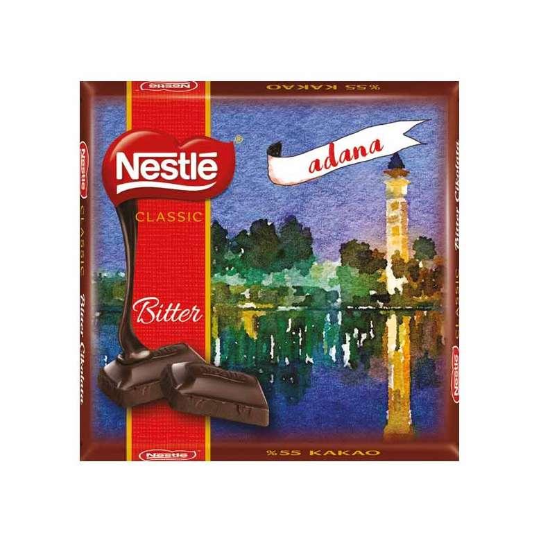 Nestle Çikolata Bitter 65 G
