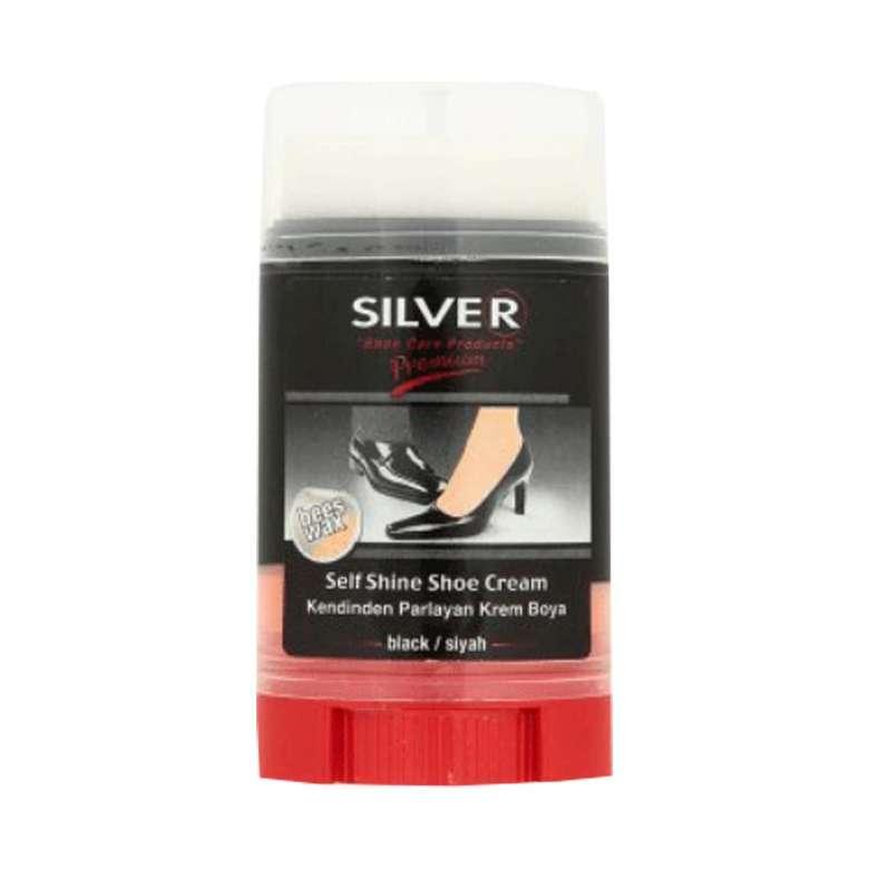 Silver Kendinden Parlayan Krem Boya Siyah 50 ml