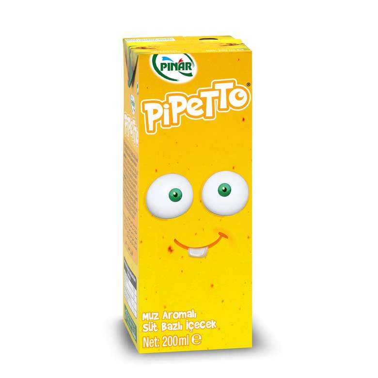 Pınar Pipetto Süt Muzlu 180 Ml