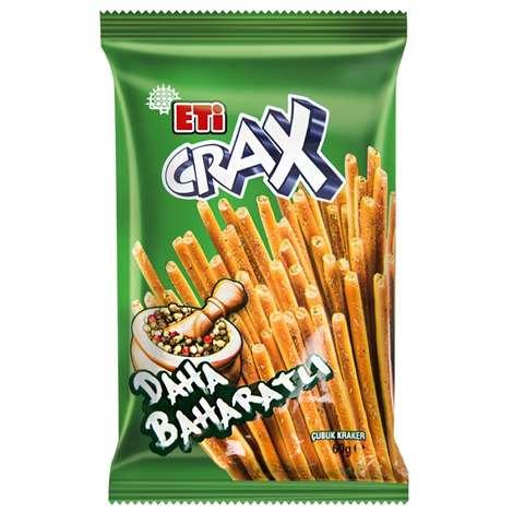 Eti Crax Kraker Baharatlı 50 G