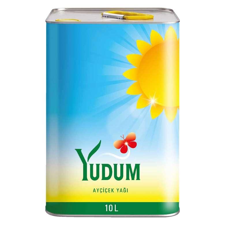 Yudum Ayçiçek Yağı 10 L