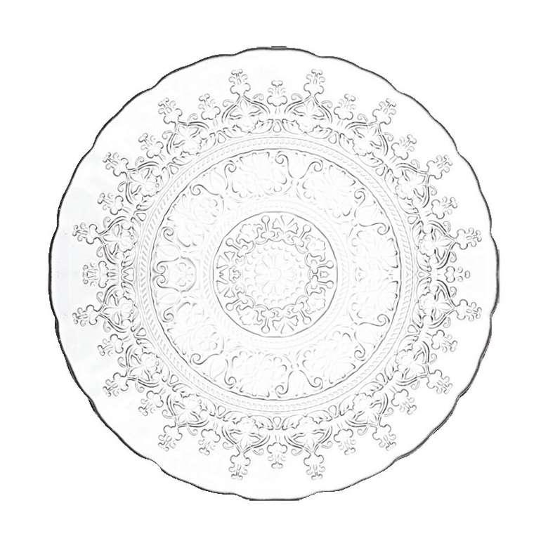 Alinea Cam Tabak 21 Cm Quartz / Desenli