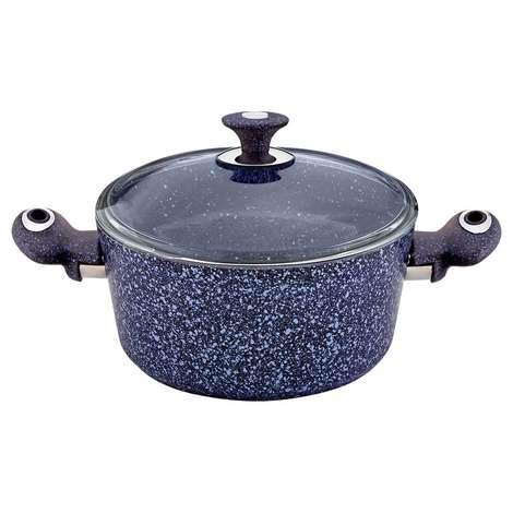 Has Cevher Ezme Granit Tencere 24 cm - Mor Fulya