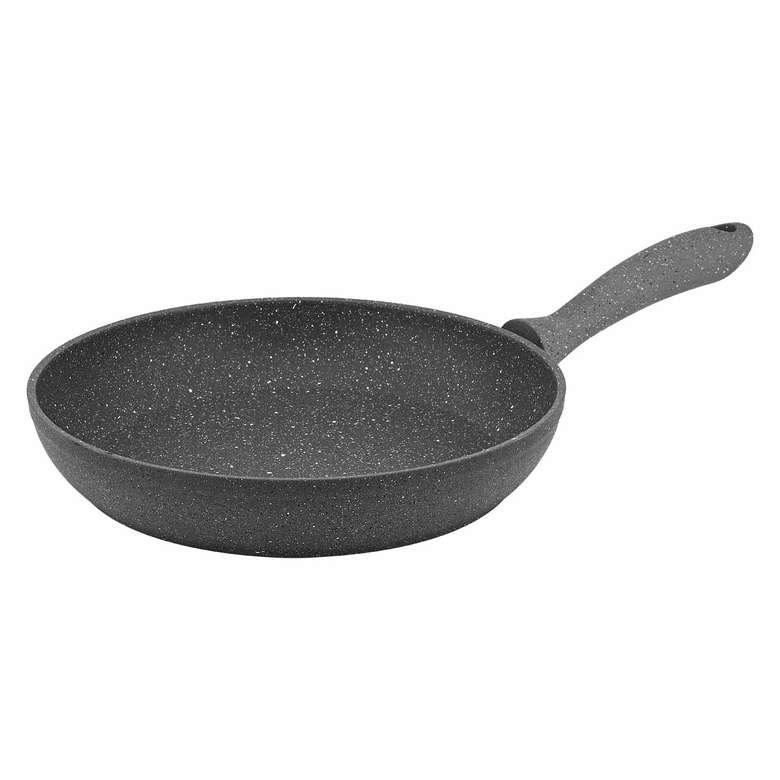 Has Cevher Ezme Granit Tava 26 cm - Siyah