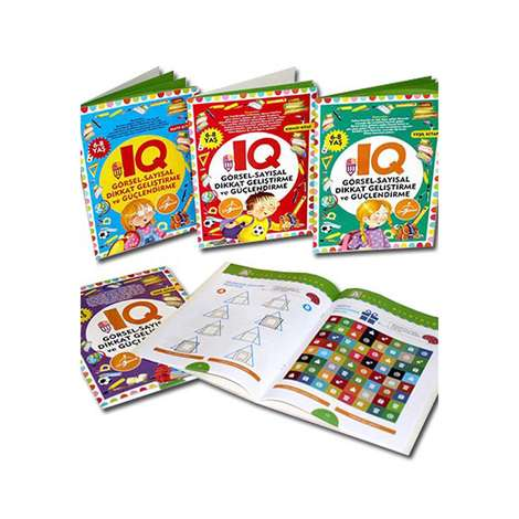 IQ Dikkat Geliştirme Ve Güçlendirme Seti