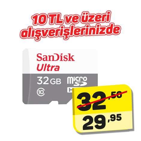 Sandisk 32 Gb Micro Sd Kart