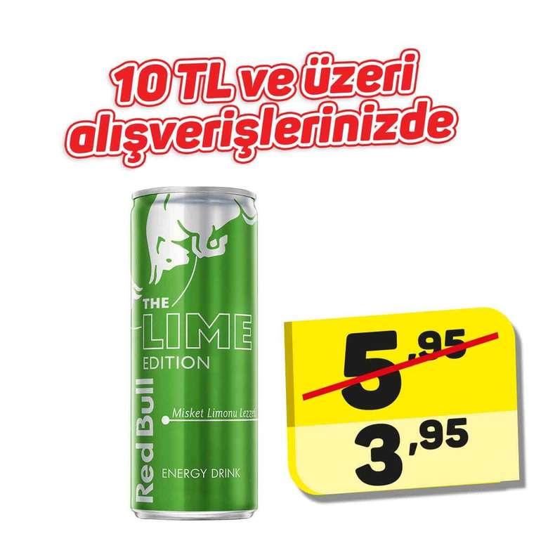 Red Bull Enerji İçeceği Lime Edition 250 Ml