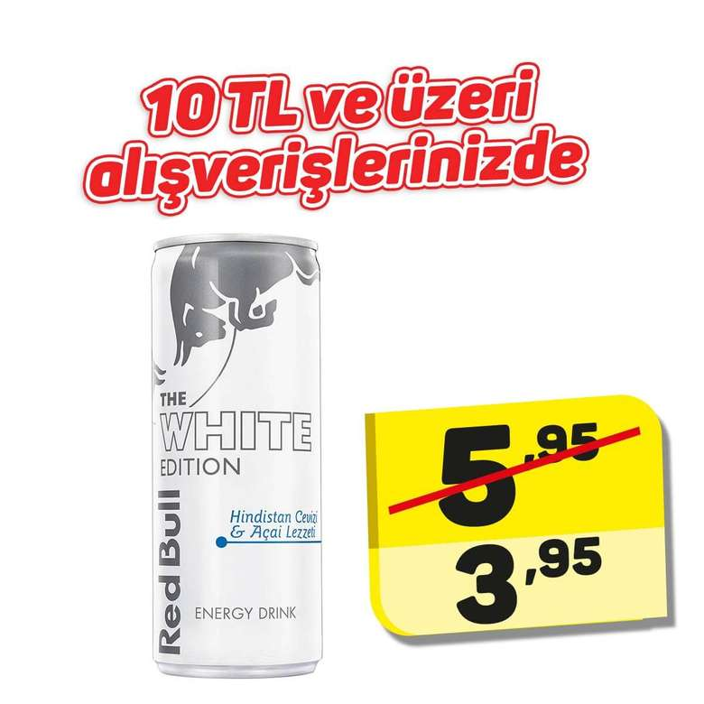 Red Bull Enerji İçeceği White Edition 250 Ml