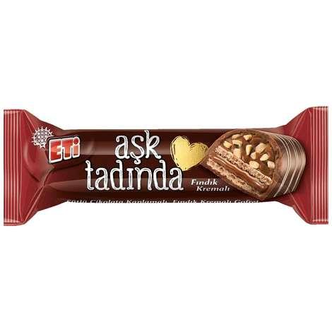 Eti Aşk Tadında Bar Çikolata Fındıklı 45 G