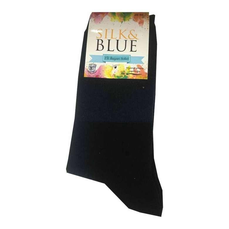 Silk&Blue Bambu Gri Erkek Çorap