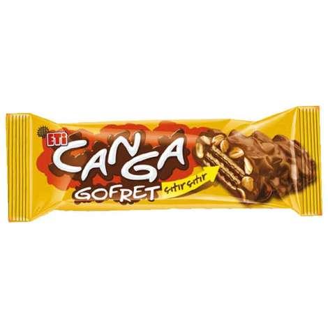 Eti Canga Gofret Çikolatalı Yer Fıstıklı 34 G