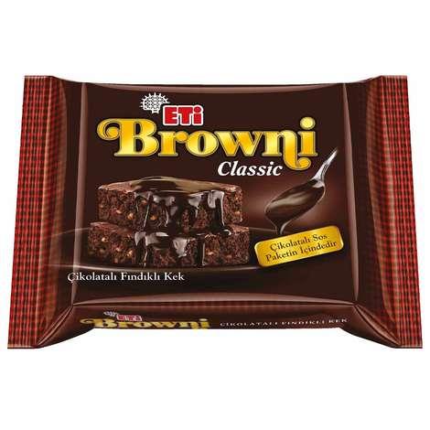 Eti Browni Kek Kakaolu Fındıklı 200 G