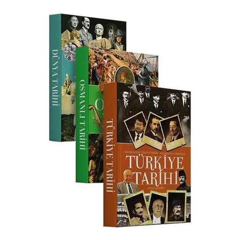 Tarih Seti - Osmanlı, Türkiye Ve Dünya Tarihi - 3 Kitap