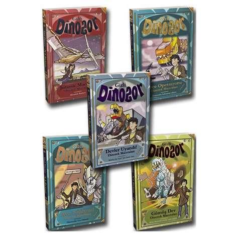 Gizli Dinozor Serisi - 5 Kitap